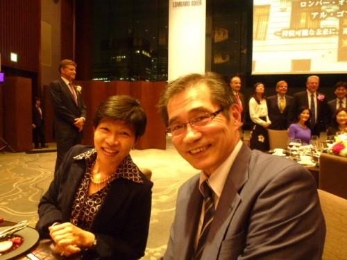 キャシー・松井さんと:20年ぶりにお会いしました!