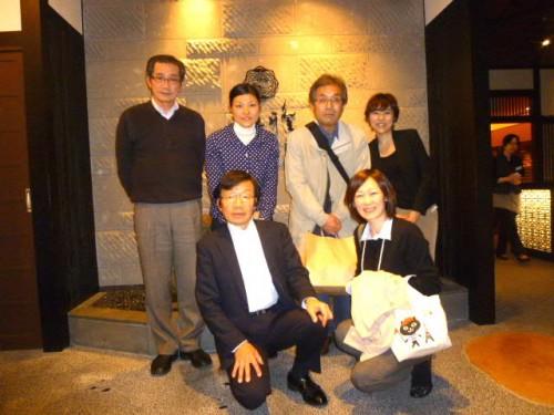 大西希(のぞみ:後列右端)取締役とご一緒に記念撮影