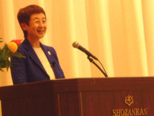 仙台市長の特別講演