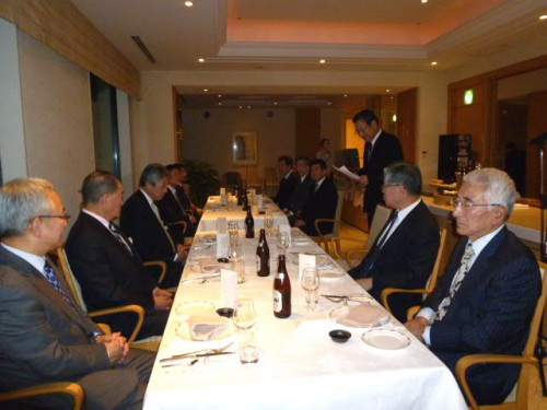 北海道経済同友会小樽支部との交換会後の交流会