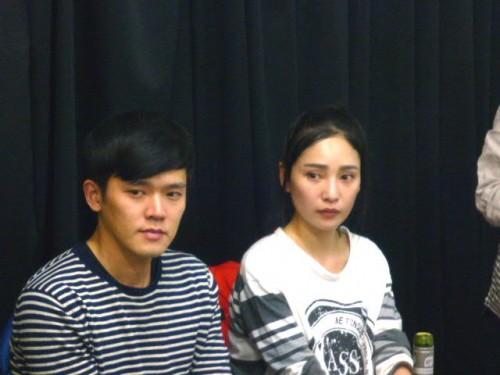韓国からの演劇人お二人も