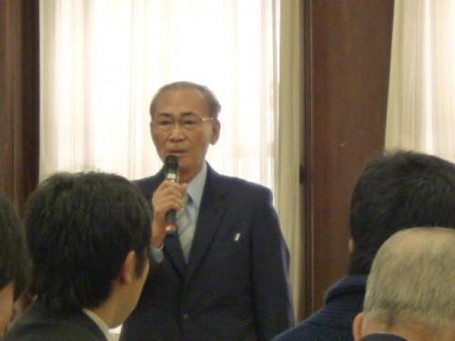 北海道マサチューセッツ協会:中垣事務局長