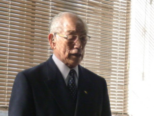 遠友再興塾代表の山崎健作さん