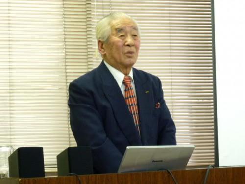 お母さまが遠友夜学校を卒業された高柳晃先生