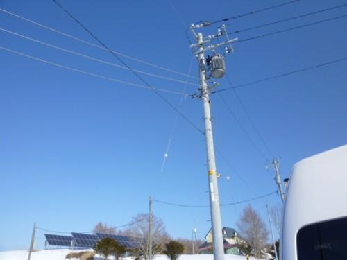 電力会社との熾烈な交渉の末、実現しました!