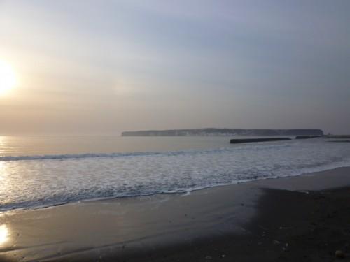 太平洋の波しぶき