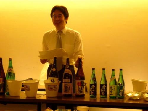 利き酒師・中村先生