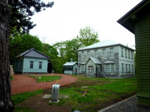 明治時代の建物もそのままで