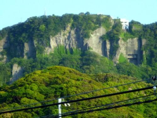 北海道的でもなく、伊豆半島とも違う光景