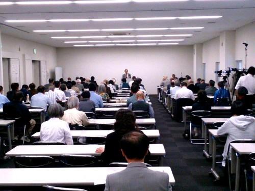 藤井茂常務理事の特別講演