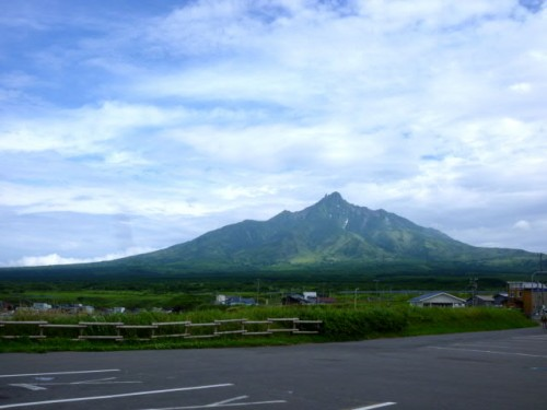 利尻島南からの眺望