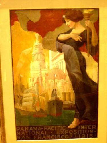 「サンフランシスコ展示会 1915」ポスター