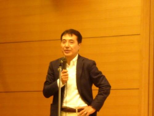 所長の飯田哲也さん:経過報告