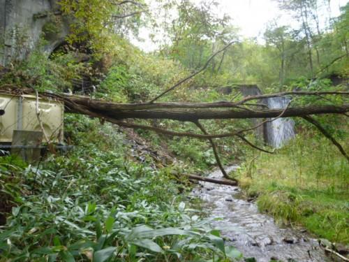 廃坑湧き水活用の小水力発電