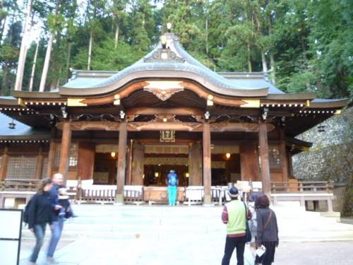 桃山神社 秋の高山祭の主役です