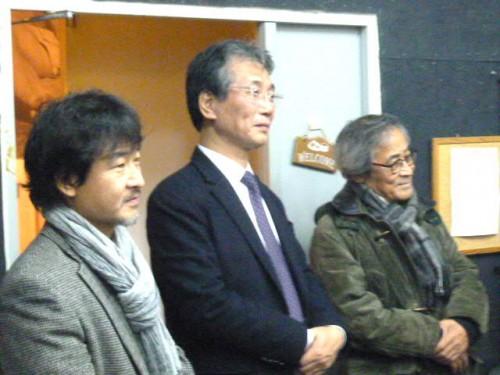 韓国からも演劇関係の重鎮の皆さまも