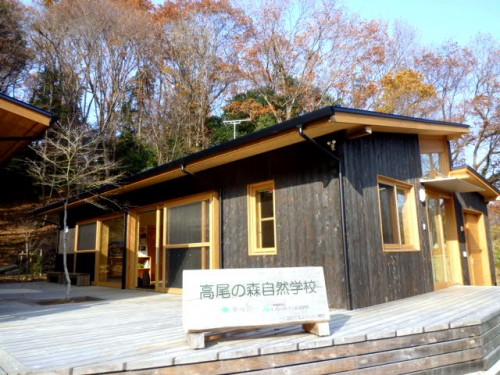 セブンイレブンが建設して東京都へ寄附した木製建物