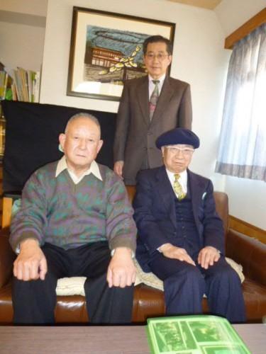 松本和彦先生(左)、片桐一男先生(右)