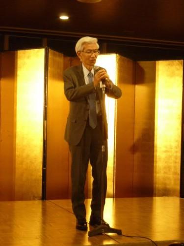 前会長・近藤龍夫さんも駆けつけてくれました