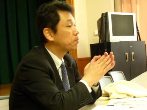 冒頭は下川町役場・高橋課長のお話