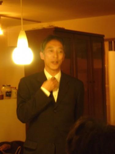 この4月からは(公財)北海道演劇財団の常務理事として斎藤歩さん!