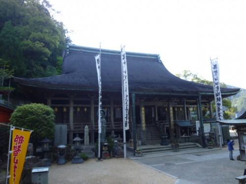 那智大社の隣に寺