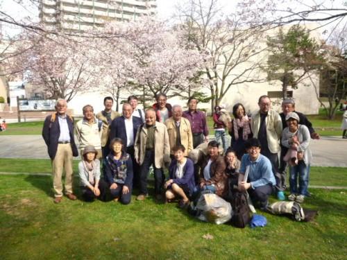 演劇の応援団、Zooサロンの皆さま@中島公園