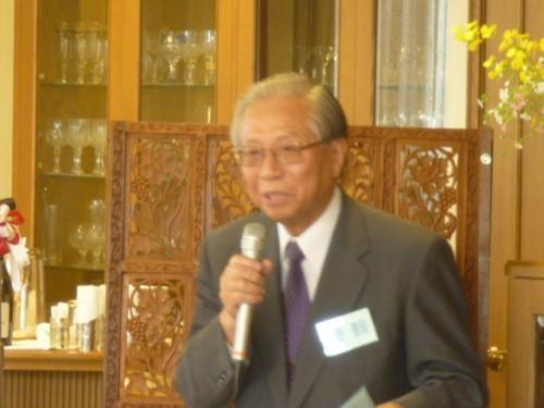 三代目副理事長の秋野豊明先生