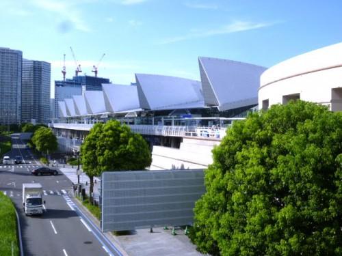 広大なパシフィコ横浜展示場
