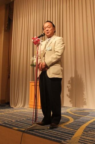 佐藤先生の素晴らしいご挨拶