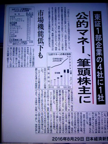 異常な状態の日本経済