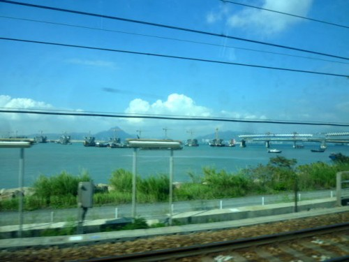 空港から香港島まで