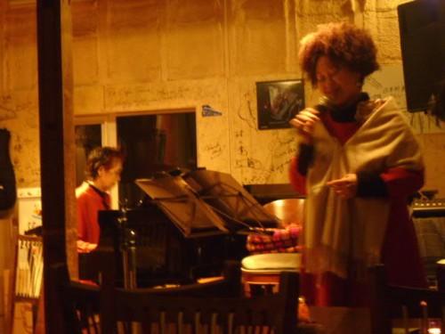 年末感謝の集い@Cafe Tone 伊藤めぐ&宮澤洋子