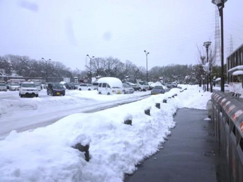四日市周辺は大雪