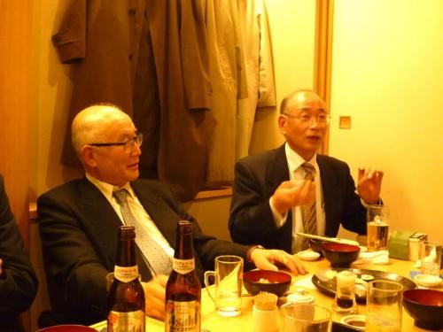 中野代表(左)と奈良さん(右)の熱弁!