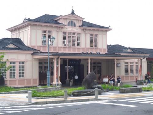 レトロなJR日光駅