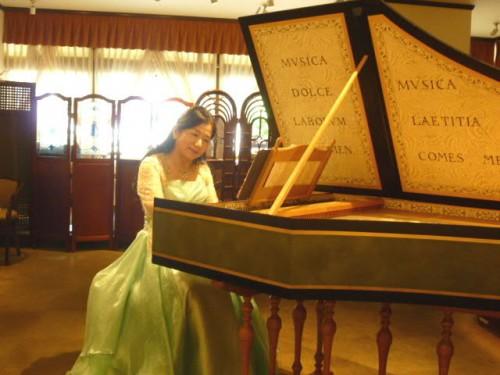 明楽さんのチェンバロ演奏と北前船のお話