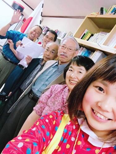 5月に札幌に来た時のあいぼんと考える会メンバー!