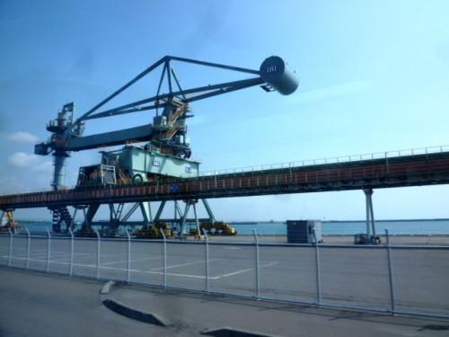 苫東東港で