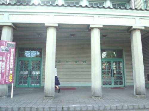風格のある建物玄関