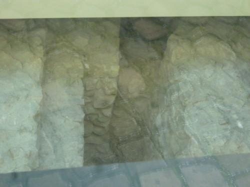 ローマ時代の城壁跡