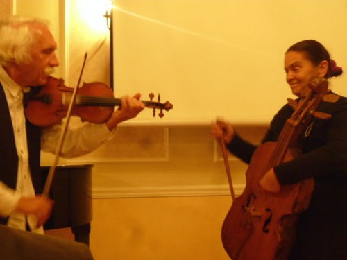 民族楽器演奏