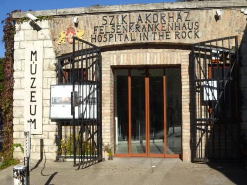 岩の病院:戦時下の野戦病院跡