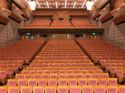 会場の葛飾ホール