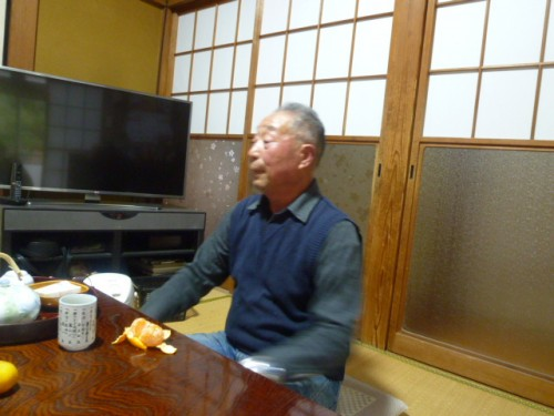 秋山二郎さんのお宅で