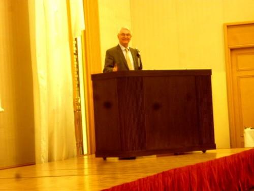 WN保全財団(在ハンガリー)キッシュ・シャンドール理事長