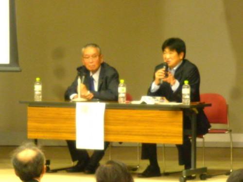 二人の「黒田」、黒田清揚さん(左)& 黒田伸さん(右)