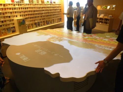 富山県観光の紹介スペース