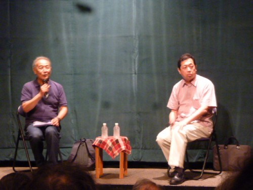 渡辺監督と  教授
