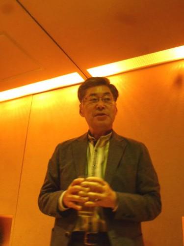 「札幌演劇シーズン」実行委員会の樋泉実委員長のご挨拶